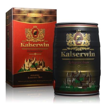 德国凯撒黑啤酒5L