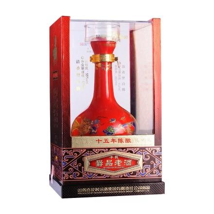 (清仓)55°汾酒集团千秋爵品老酒十五年陈酿475ml