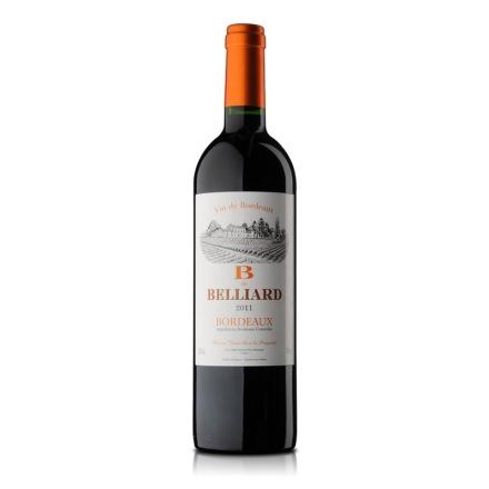 法国贝利雅干红葡萄酒750ml