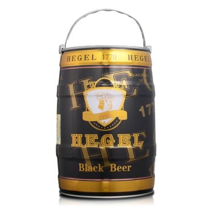 德国黑格尔黑啤5L