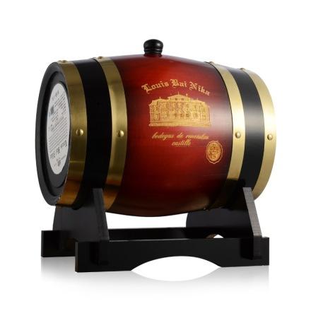 智利路易佰尼卡橡木桶装干红葡萄酒3.75升
