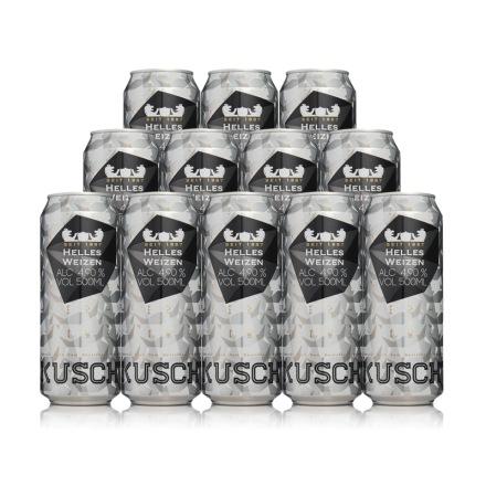德国库斯特原浆特酿小麦白啤酒500ml(12瓶装)
