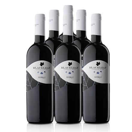 意大利拉提亚叶之藤西拉子干红葡萄酒750ml(6瓶装)