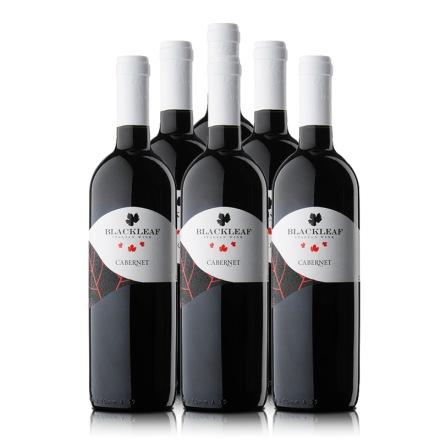 意大利拉提亚叶之藤赤霞珠干红葡萄酒750ml(6瓶装)