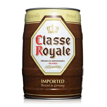 德国皇佳小麦黑啤酒5L