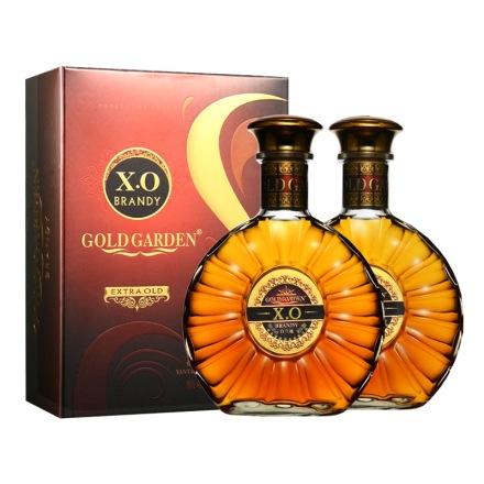 40°朋珠白兰地XO500ml(双瓶装)