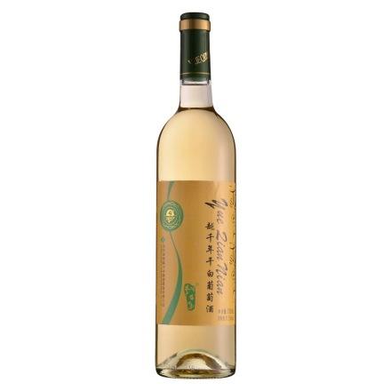 11.5°中国越千年干白葡萄酒750ml(乐享)