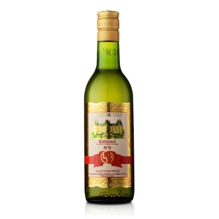 法国拉维之星8号波尔多白葡萄酒187ml