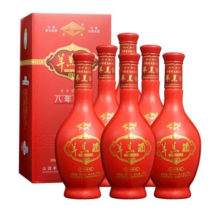 42°羊羔酒陈酿八475ml(6瓶装)