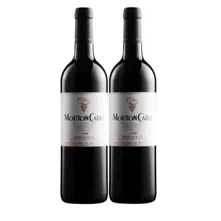 法国木桐嘉棣酒庄干红葡萄酒750ml(双瓶装)