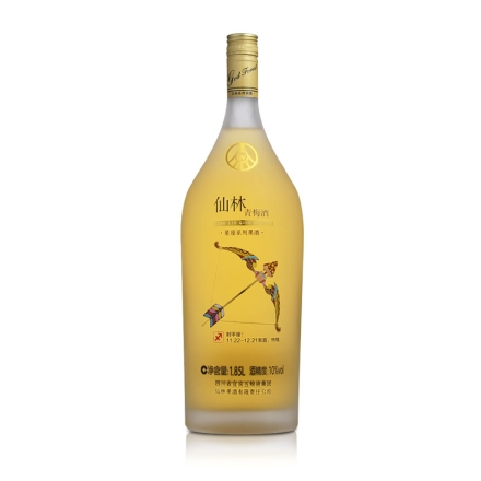 (清仓)10°五粮液·仙林星座果酒—射手座1.85L