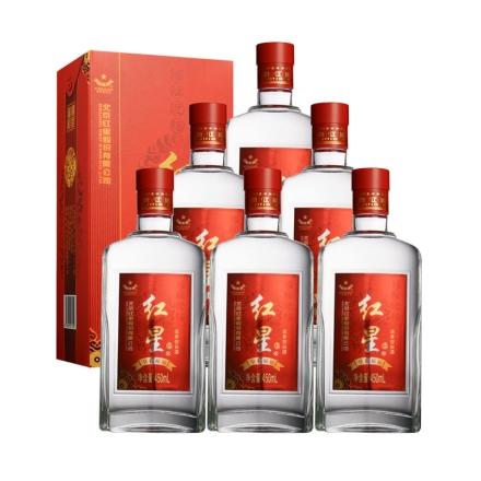 42°红星皇彩福运酒 450ml(6瓶装)