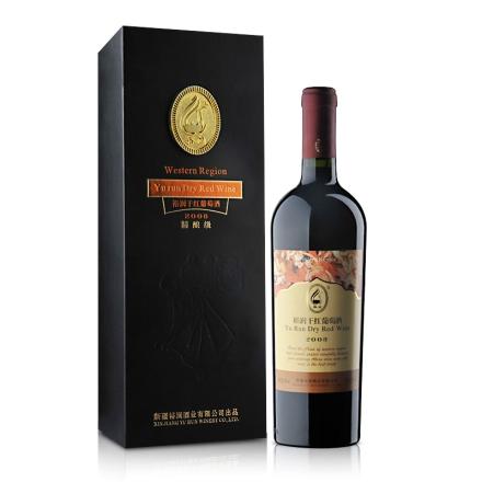 裕润干红葡萄酒2008精酿级750ml