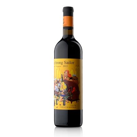 【清仓】12.5°澳洲詹姆士漂客水手2013赤霞珠干红葡萄酒 黄标750ml