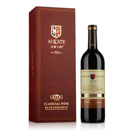 艾斯卡特赤霞珠干红葡萄酒 御享级 礼盒装750ml