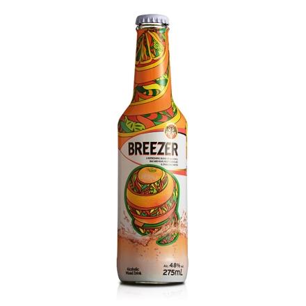 4.8°百加得冰锐假日瓶版-橙味275ml