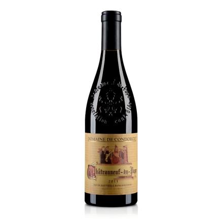 法国孔多赛庄园教皇新堡红葡萄酒750ml
