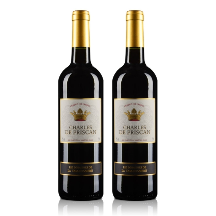 法国查尔斯红葡萄酒750ml(双瓶装)