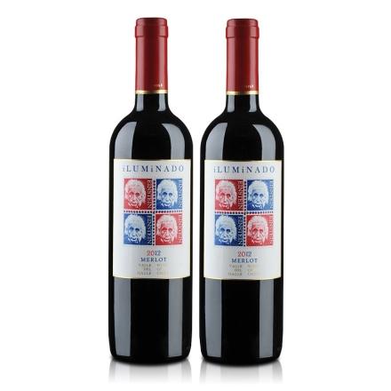 智利伊鲁米纳多干红葡萄酒750ml(双瓶装)
