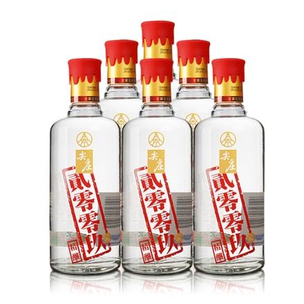 50°五粮液(股份)尖庄贰零零玖(2009)精酿450ml(6瓶装)