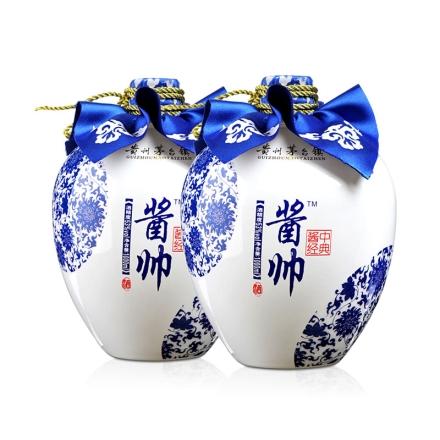 53°酱帅捆沙工艺酱香酒(酱中经典)1000ml(双瓶装)