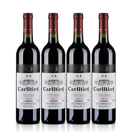 卡尔蒂尼典藏赤霞珠干红葡萄酒 750ml(4瓶装)