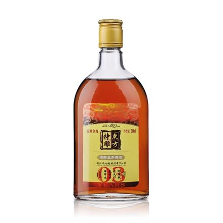 11°东方特雕清醇3年黄酒500ml
