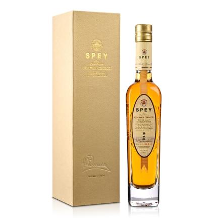 40.8°英国诗贝(SPEY)皇金精选单一纯麦苏格兰威士忌200ml