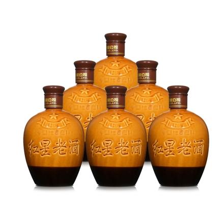39°红星老酒450ml(整箱装)