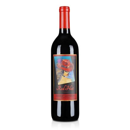 【清仓】美国四姊妹红帽子赤霞珠2012干红葡萄酒750ml