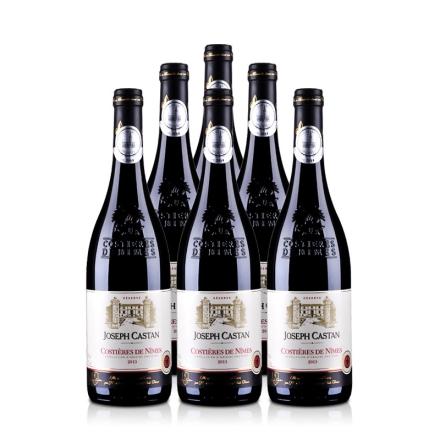 法国约瑟夫酒庄珍藏红葡萄酒750ml(6瓶装)