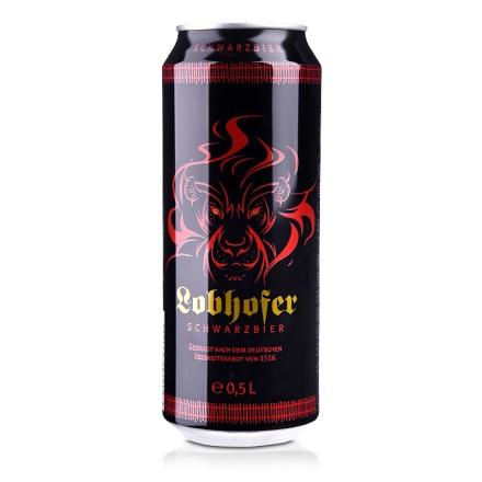 德国欢伯瑞狮黑啤酒500ml