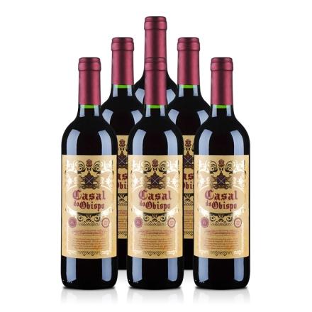 西班牙卡萨尔教皇半甜红葡萄酒750ml(6瓶装)