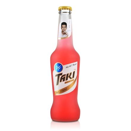 4.1°达奇TAKI草莓味伏特加鸡尾酒(预调酒)纯情装275ml