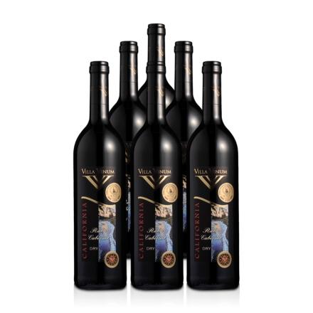 美国加州宝贝红宝卡本尼干红葡萄酒750ml(6瓶装)
