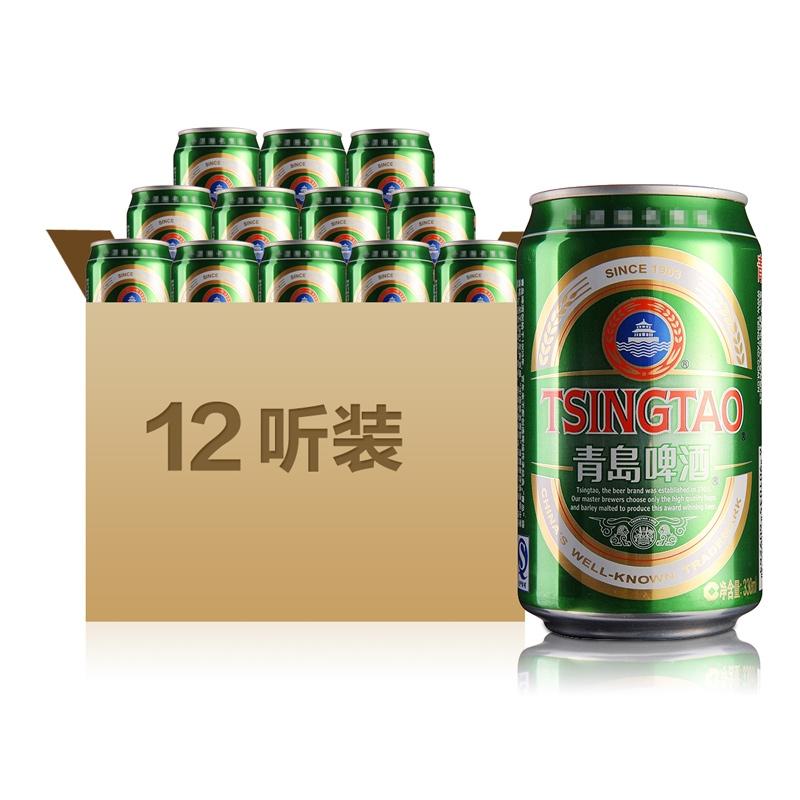 青岛啤酒经典330ml(12瓶装)