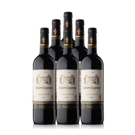 法国约瑟夫地区珍藏红葡萄酒 750ml(6瓶装)
