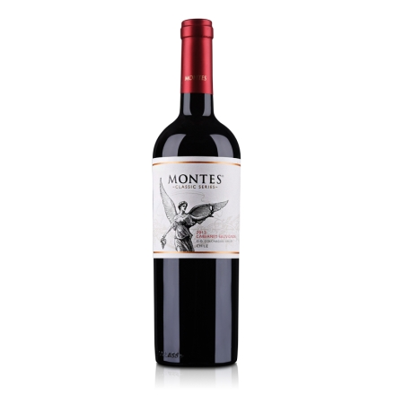 智利蒙特斯赤霞珠干红葡萄酒750ml