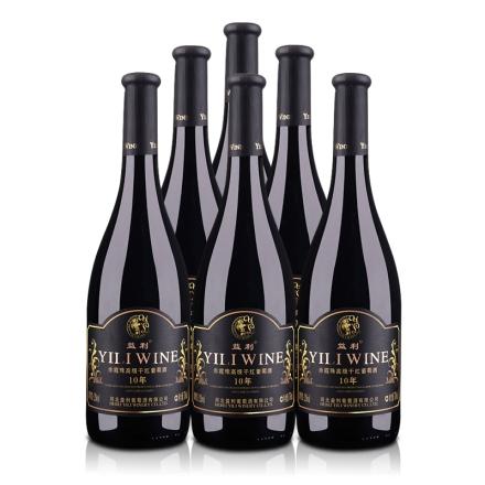 益利赤霞珠干红葡萄酒750ml(6瓶装)