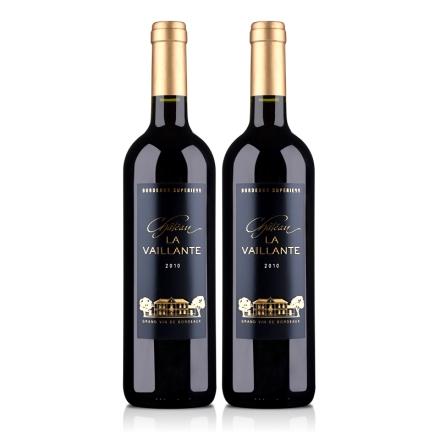 法国大威岚特城堡2010干红葡萄酒750ml(双瓶装)