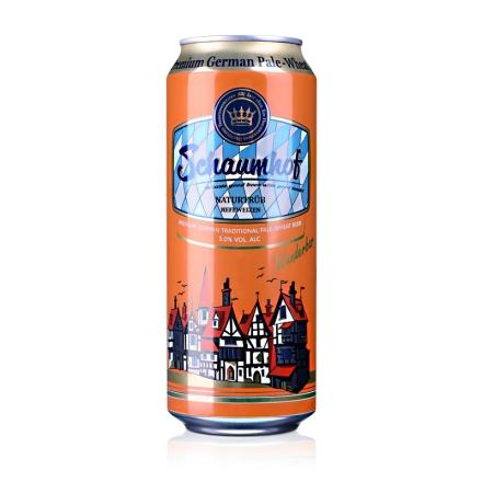 德国雪夫白啤酒500ml