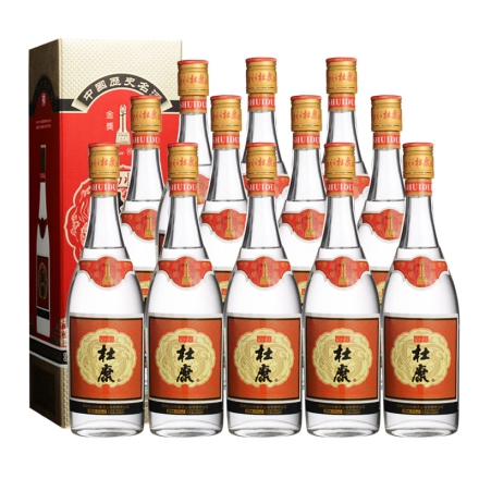 42°白水杜康国际金奖酒500ml(12瓶装)