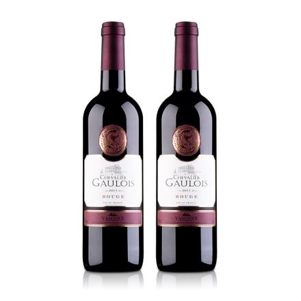 法国高卢骑士干红葡萄酒(双瓶装)