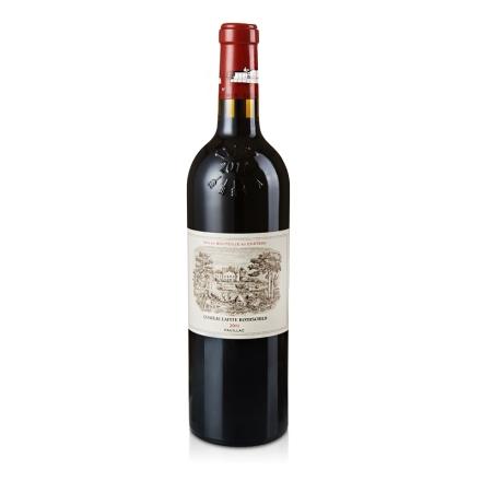(列级庄·名庄·正牌)法国拉菲酒庄古堡2011干红葡萄酒750ml(又译:拉菲古堡)