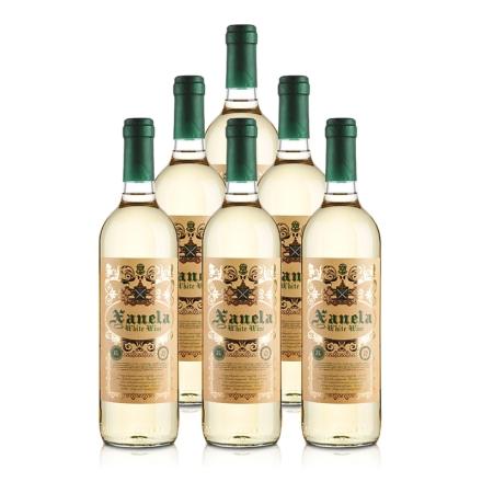 【清仓】西班牙圣内拉半甜白葡萄酒750ml(6瓶装)