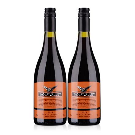 詹姆士橙标混合干红葡萄酒750ml(2瓶装)