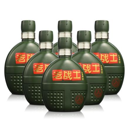 52°老战士背包带纪念版500ml(6瓶装)