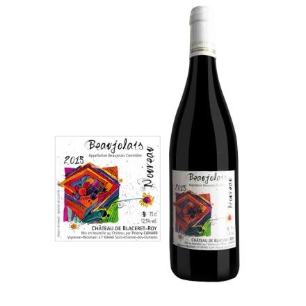 法国博若莱新酒--诺莱雅干红葡萄酒750ml