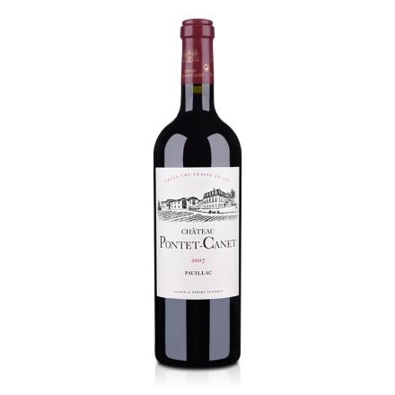 (列级庄·名庄·正牌)法国宝得根酒庄2007干红葡萄酒750ml(又名:庞特卡内、庞特卡莱、宝望)