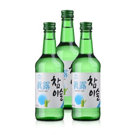 17.8°新真露竹炭酒360ml(3瓶装)